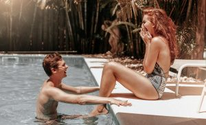 Is going swimming a good idea for a first date?
